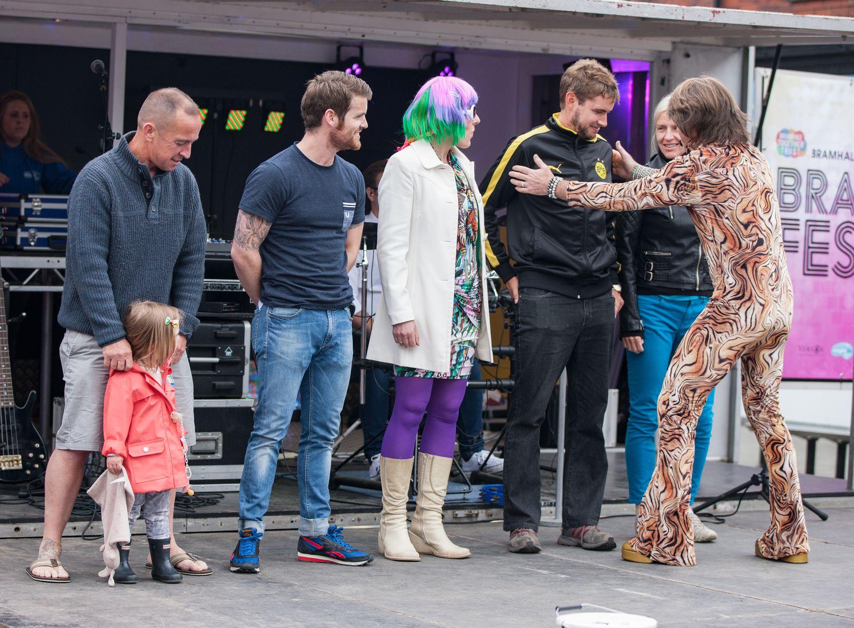 Leroy Lurve I Love Bramhall Festival - image courtesy of Glyn Burgess Photography